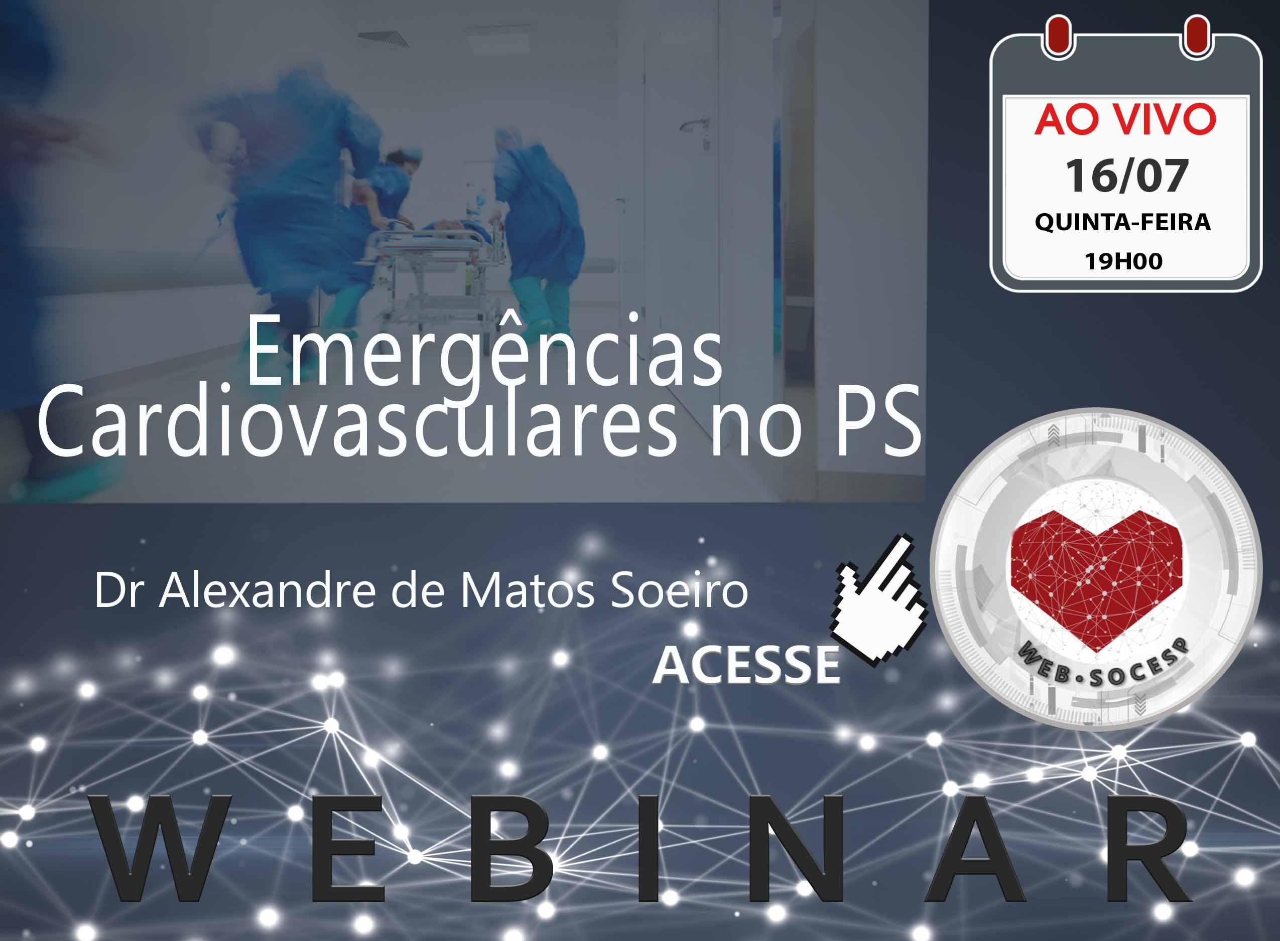 Imagem Marília - Emergências cardiovasculares no PS - Dr. Alexandre de Matos Soeiro