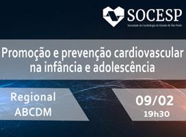 Imagem Promoção e prevenção cardiovascular na infância e adolescência