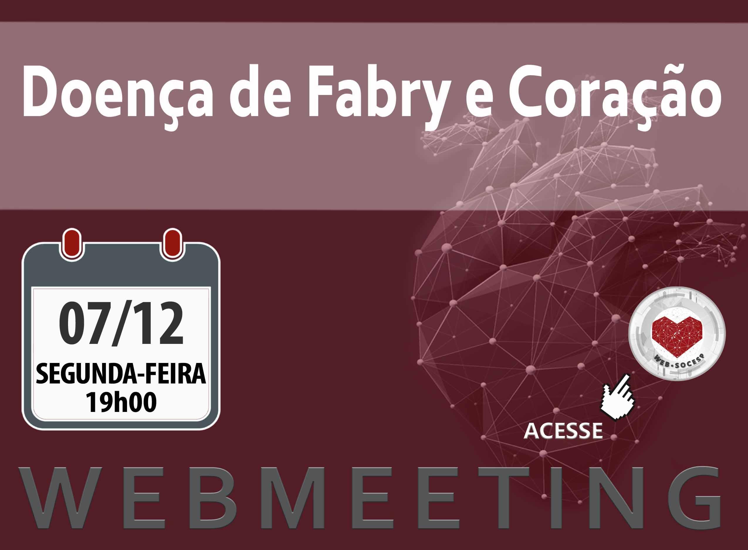 Imagem DOENÇA DE FABRY E CORAÇÃO