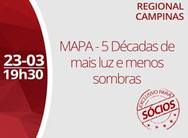 Imagem MAPA - 5 DÉCADAS DE MAIS LUZ E MENOS SOMBRAS