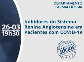 Imagem INIBIDORES DO SISTEMA RENINA ANGIOTENSINA EM PACIENTES COM COVID-19