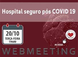 Imagem HOSPITAL SEGURO PÓS COVID 19