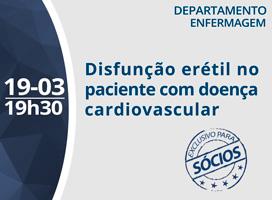 Imagem DISFUNÇÃO ERÉTIL NO PACIENTE COM DOENÇA CARDIOVASCULAR