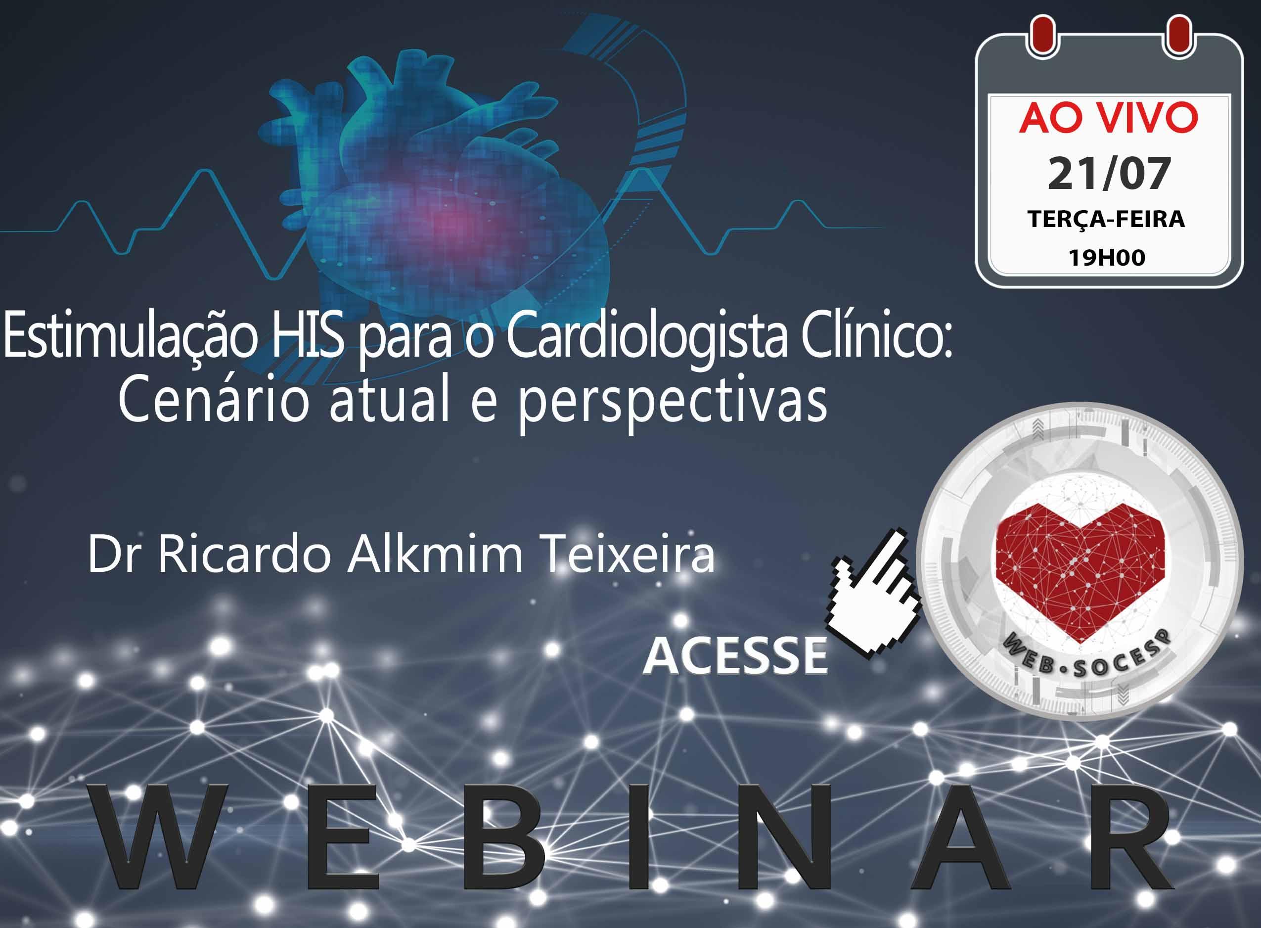 Imagem Bauru -Estimulação HIS para o Cardiologista Clínico: cenário atual e perspectivas -Ricardo Alkmim Teixeira