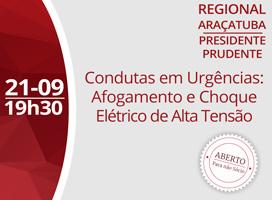 Imagem CONDUTAS EM URGÊNCIAS: AFOGAMENTO E CHOQUE ELÉTRICO DE ALTA TENSÃO