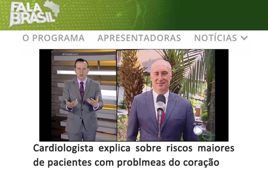 Imagem da notícia O presidente da SOCESP, João Fernando Monteiro Ferreira, em entrevista ao vivo