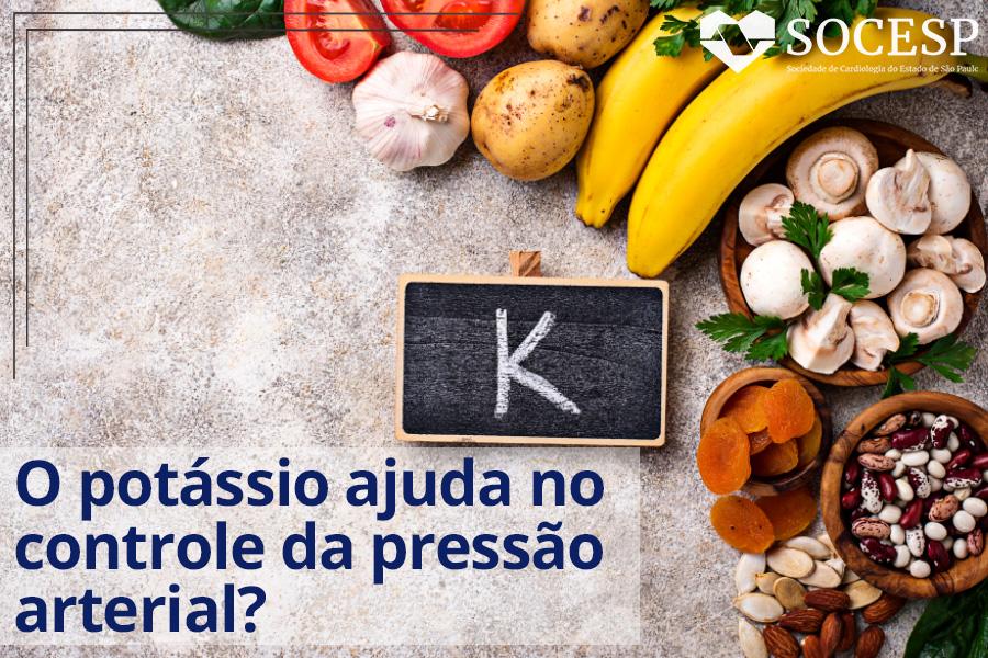 Imagem da notícia SEGUNDO O DEPARTAMENTO DE NUTRIÇÃO DA SOCESP, O POTÁSSIO TEM AÇÃO CONTRÁRIA AO SÓDIO
