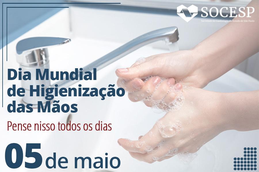 Imagem da notícia DIA MUNDIAL DE HIGIENIZAÇÃO DAS MÃOS