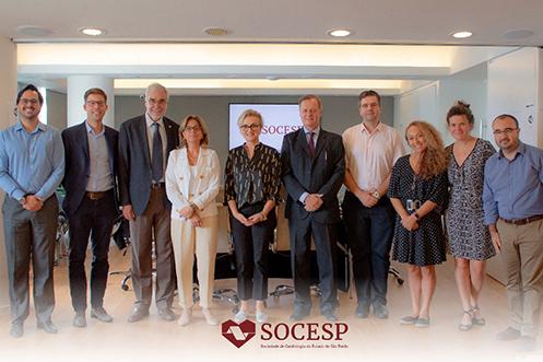 Imagem da notícia Socesp recebe presidente da Fundação Novartis