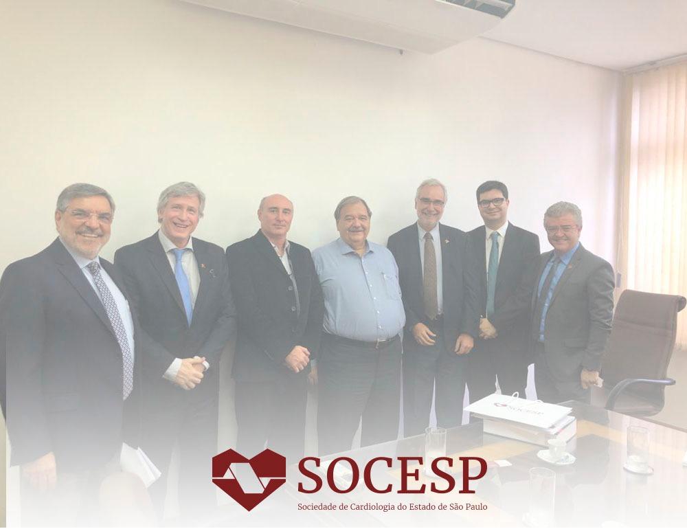 Imagem da notícia Secretaria da Saúde manterá apoio a projetos da Socesp no próximo biênio