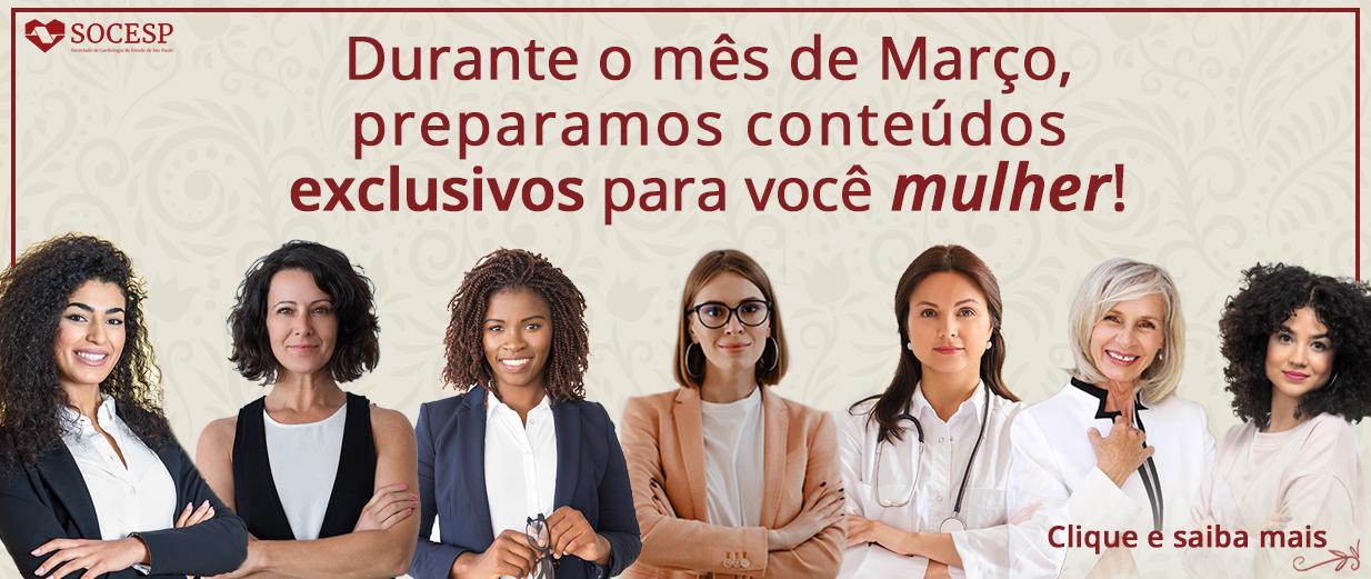 MARÇO - MÊS DA MULHER