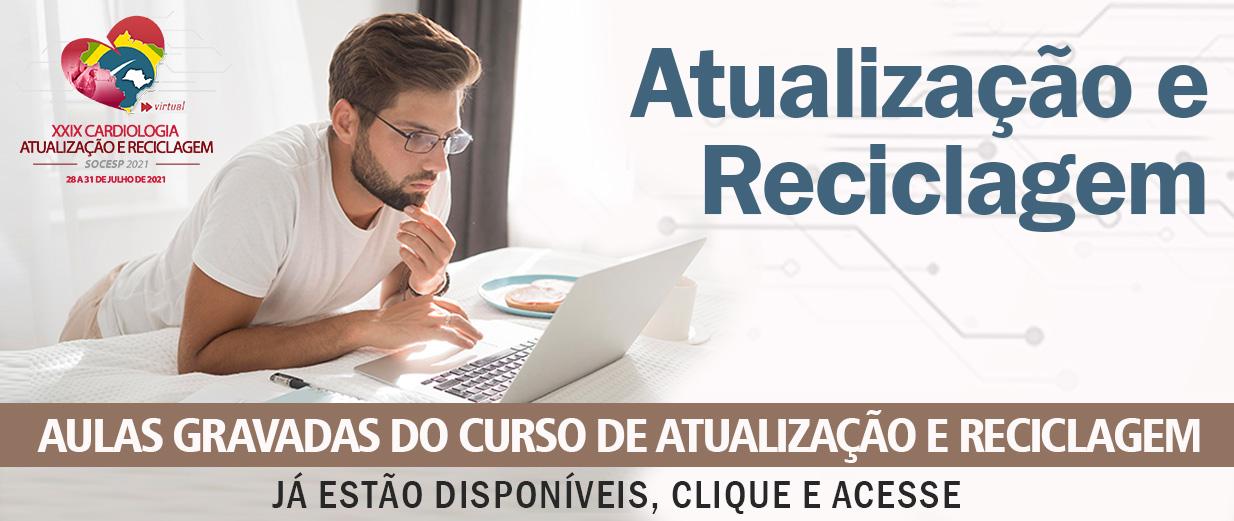 AULAS GRAVADAS - RECICLAGEM 2021