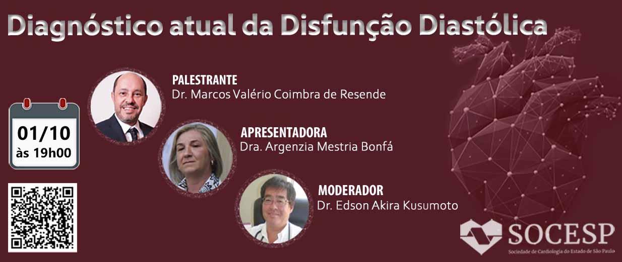 Diagnóstico atual da Disfunção Diastólica