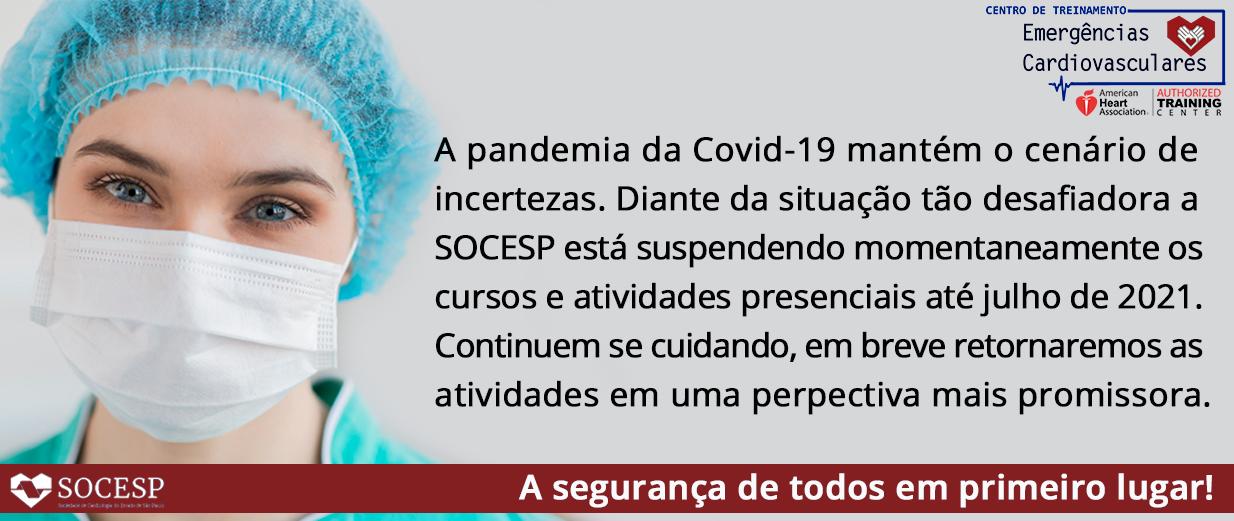 COMUNICADO - CT CURSOS SUSPENSOS ATÉ JULHO