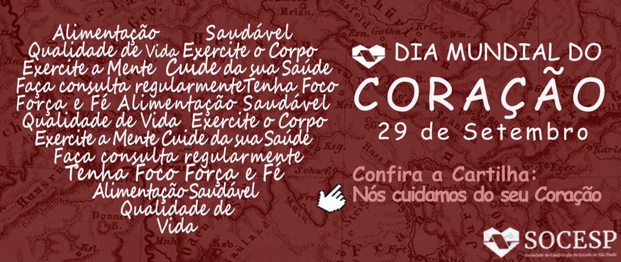 DIA MUNDIAL DO CORAÇÃO 2020
