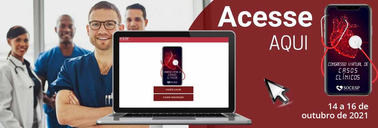 CONGRESSO VIRTUAL CASOS CLINICOS 2021 - ACESSO A PLATAFORMA
