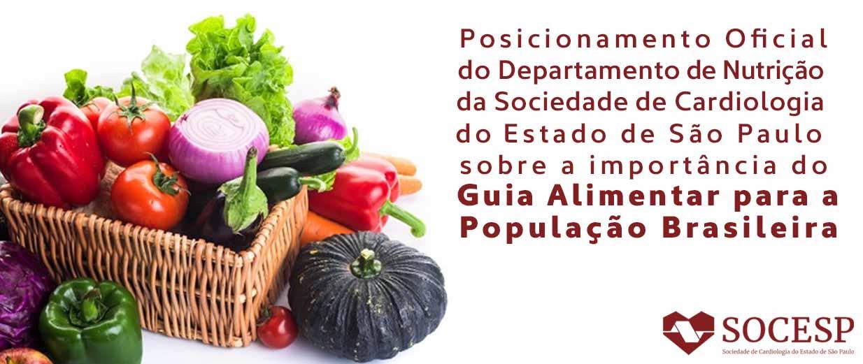 Importância do Guia Alimentar para a População Brasileira